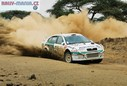 Škoda WRC - Safari Rally Kenya 2001