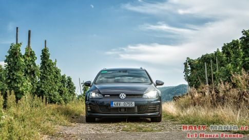 Na rally s Volkswagen Golf Variant GTD