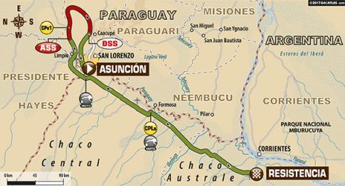 Dakar 2017: 1.etapa [AKTUALIZUJEME]