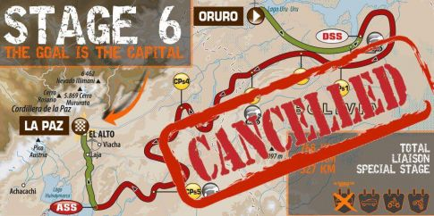 Dakar 2017: 6.etapa [ZRUŠENO]