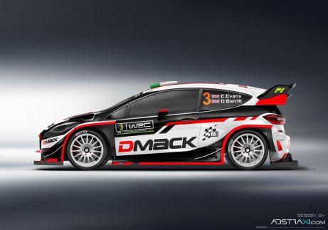 Design Fiesty WRC Elfyna Evanse [FOTO]