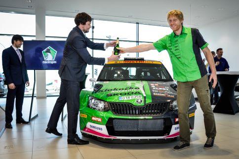Racing 21 vletošní sezóně se Štajfem a Landou ve Fabiích R5